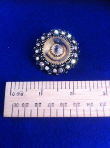 Steampunk Brooch scale